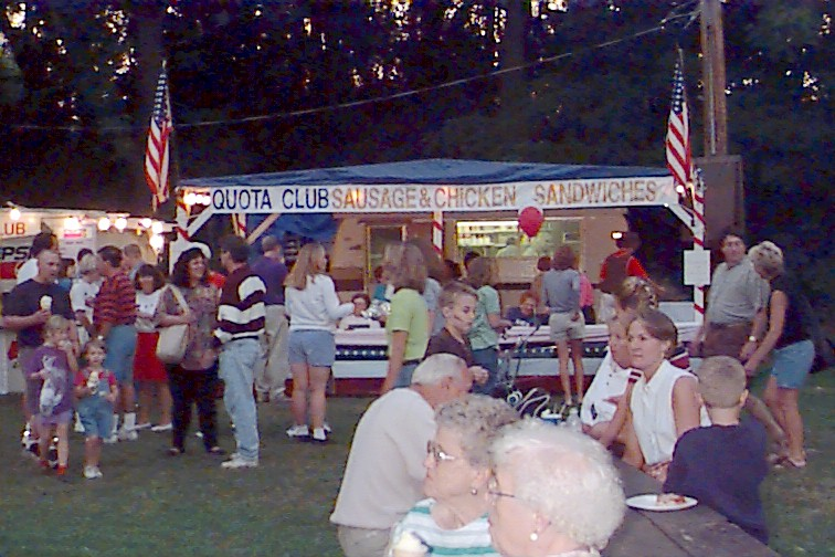 Volunteer During Carnation Days in the Park